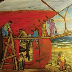 arte_gallego_siglos_XIX_XX_refleja_espejo_mar